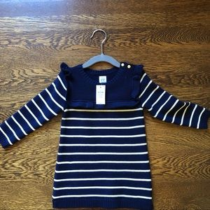 NWT GAP sweater dress - baby girl - 18-24 months